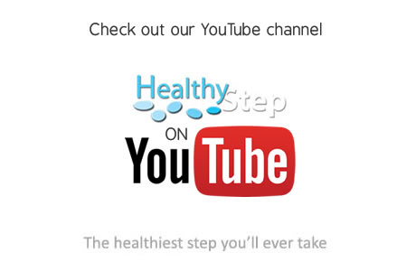 Healthystep YouTube channel